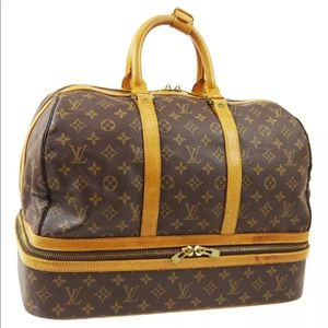 LOUIS VUITTON SAC SPORTS BOSTON HANDBAG MONOGRAM